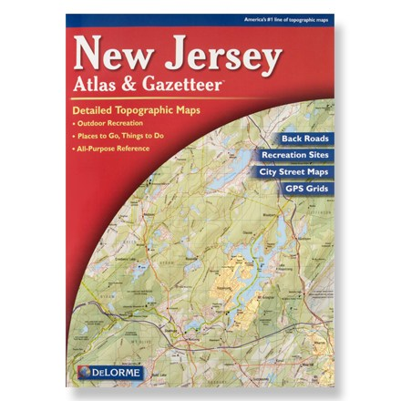 Camp and Hike In easy-to-use book form, topographic maps for the entire state include unequaled backroad detail and detailed streets of the larger cities. - $19.95