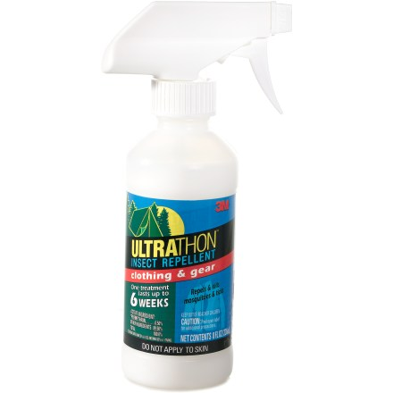 Camp and Hike Keep pesky insects away by treating your clothing and gear with 3M Ultrathon Clothing and Gear insect repellent. - $5.93