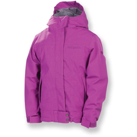Snowboard The girls' 686 Smarty Ginger 3-in-1 insulated jacket is a versatile solution for park or village wear. 686 isn't just a number; it's a way of life! - $89.83