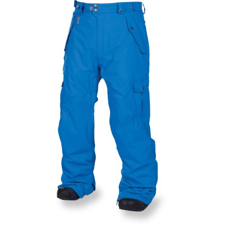 Snowboard The 686 Smarty Original Cargo 3-in-1 Insulated pants outfit you for a day of all-mountain and park shredding. - $99.83