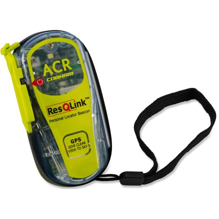 Camp and Hike The ACR Electronics ResQLink GPS Personal Locator Beacon relays your exact position to a global network of Search and Rescue satellites to summon help when you have an emergency in a remote location. - $280.00