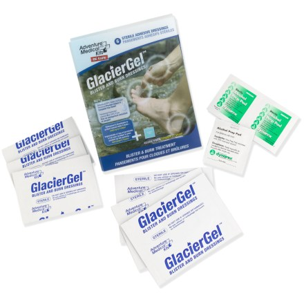 Camp and Hike Get instant relief from small blisters and burns encountered on the trail with this handy kit from Adventure Medical. - $9.95