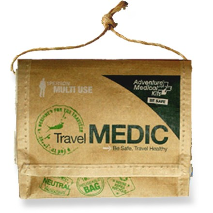 Camp and Hike Treat minor injuries and ease discomforts associated with travel with the Adventure Medical Travel Medic first-aid kit. - $11.95