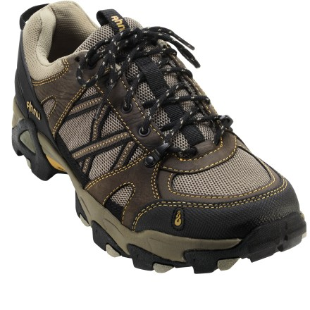 Fitness Sneak a quick hike in with the Ahnu Moraga Mesh cross-training shoes, which offer plenty of support and breathable comfort for day hikes and fast and light pursuits. - $59.83