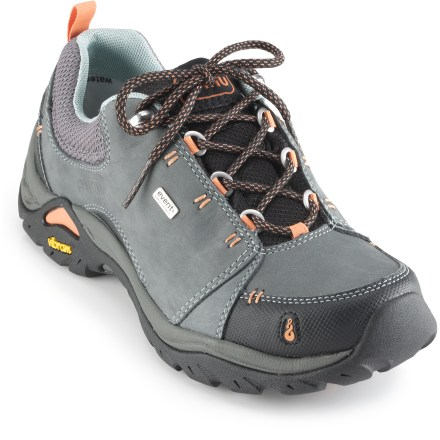 Camp and Hike The Ahnu Montara II Waterproof hiking shoes work great for traditional or fast-paced hiking, as well as all-day walking, thanks to a light, responsive and waterproof platform. - $80.83