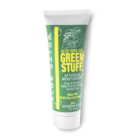 Camp and Hike Rich, soothing gel made with 99.5% pure Aloe Vera to relieve dryness due to over-exposure to the sun and wind. Its special moisturizing ingredients also help prevent peeling; alcohol-free. - $0.93