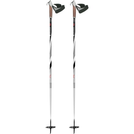 Ski Classic styling and durable construction make these Alpina ASC poles a solid choice for backcountry conditions and all skill levels. - $14.93
