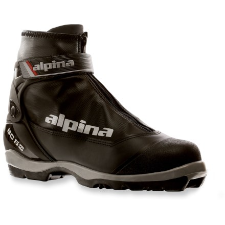 Ski Get off the beaten path and blaze your own trail through rolling hills with the Alpina NNN BC 50 ski boots. - $54.93