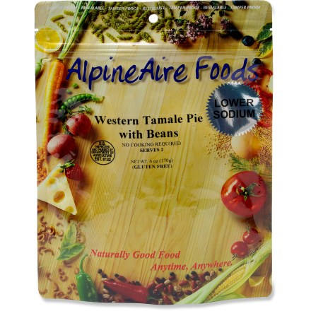 Camp and Hike Enjoy a tasty Tex-Mex meal on your next adventure with the AlpineAire Western Tamale Pie with Beef meal. - $5.93
