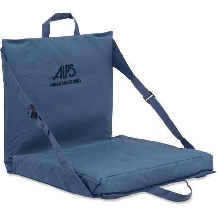 Camp and Hike The ALPS Mountaineering Explorer seat is a grab-and-go solution to sitting anywhere. Stay comfortable no matter where you go. Comfortable polyester-covered foam provides padding and insulation. Adjustable webbing straps let you personalize your sitting position. Convenient carry handles make transporting a breeze. Special buy. - $19.73