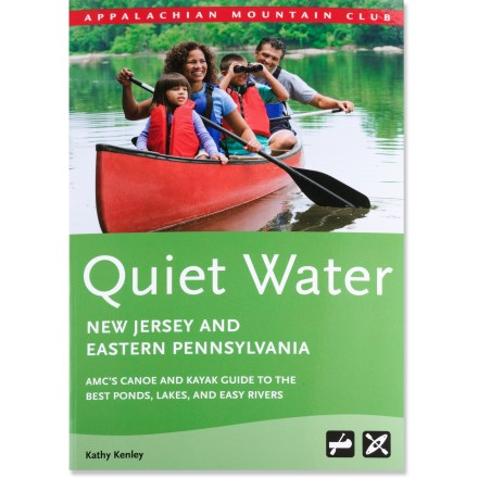 Kayak and Canoe Quiet Water New Jersey and Eastern Pennsylvania is great for canoeists and kayakers of all abilities, and features 80 trips that offer the best calm-water paddling in the region. - $19.95