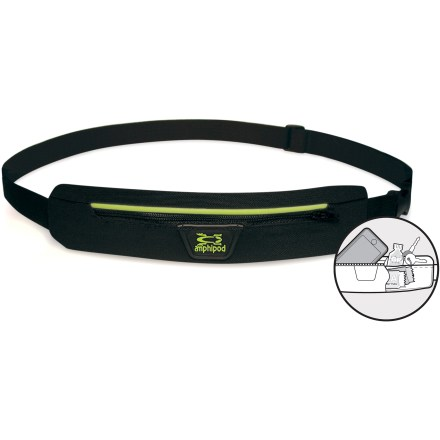 Camp and Hike The Amphipod AirFlow Microstretch waistpack sports a comfortable, breathable and bounce-free design and carries all of your small essentials for training, races and trail runs. - $14.93