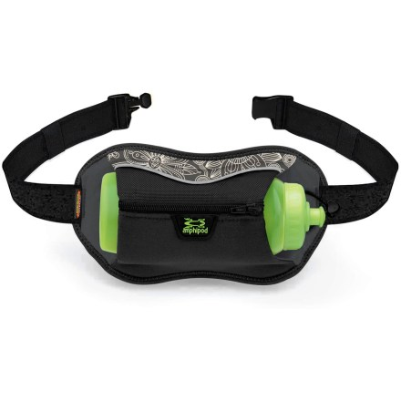 Camp and Hike The Amphipod Full-Tilt AirStretch(TM) Velocity hydration waistpack offers a lightweight design and a low profile that help eliminate the discomfort of traditional bottle packs. - $19.93