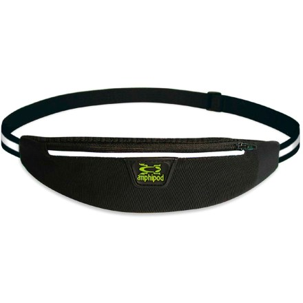 Fitness The minimalist Amphipod AirFlow Viz-Lite waistpack sports a comfortable, breathable design with lots of reflectivity for races and runs in low light. - $15.93