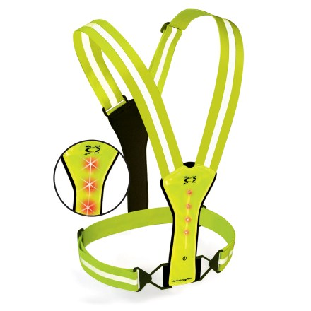 Fitness Great for in-city running, biking and walking, the Amphipod Xinglet Flash LED reflective vest keeps you visible to oncoming traffic. - $35.93