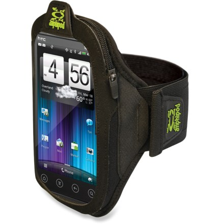 Fitness The Amphipod ArmPod SmartView Plus(TM) armband is sized to hold your large smartphone, such as a Samsung Galaxy(TM) or a Windows(TM) phone, while you run, walk and hike. - $20.93