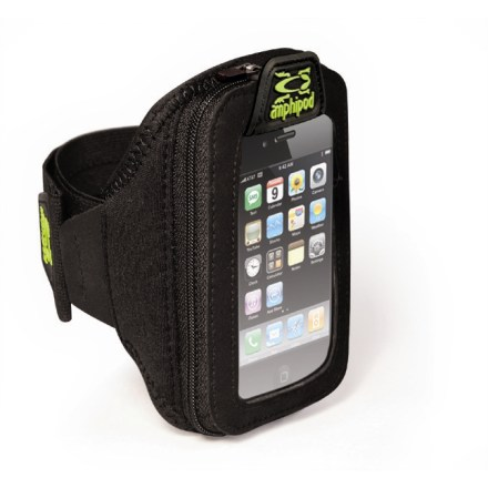 Fitness The Amphipod ArmPod SmartView(TM) armband holds your iPhone(R), iPod touch(R), Motorola Droid(TM) or similarly sized smartphone or digital music player while you run, walk and hike. - $13.93