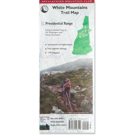 Camp and Hike This Appalachian Mountain Club trail map lets you explore New Hampshire's Presidential Range armed with the latest information packed into a waterproof package. - $9.95