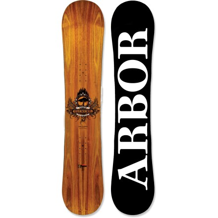 Snowboard The Arbor Element RX Mini snowboard delivers easy, all-mountain performance in a value-oriented package that's guaranteed to make Mom and Dad smile. Finally an Element for kids who want to learn to shred the whole mountain; made in a width specific for kids, this soft flexing board is fun, and easy to learn and progress on. Directional twin shape equalizes stance to activate the contact points underfoot and enhance the rocker; longer nose offers easier riding in deeper snow. Core is built using a high-density composite that's made with 30% reclaimed wood fiber for strength and light weight. Sustainably sourced inlaid wood power ply structurally enhances the board, adding return and durability, and reducing weight; plus, it creates a unique, one-of-a-kind look. Unblended progressive sidecut increases the number of contact points underfoot for better board control; maintains rocker benefits, easing turns, spins and presses. Board's core profile is slightly thinner and tapered in between the bindings to enhance mountain and park performance. Butter glassing (biax over biax) is best for park and street-inspired, all-mountain and urban riding. Fusion base is a made from a tough, user-friendly extruded compound that is light and easy to repair. Steel edges are 60% recycled material and offer maximum durability and performance. Arbor Element RX Mini snowboard artwork by Joel Woodman. . - $152.83