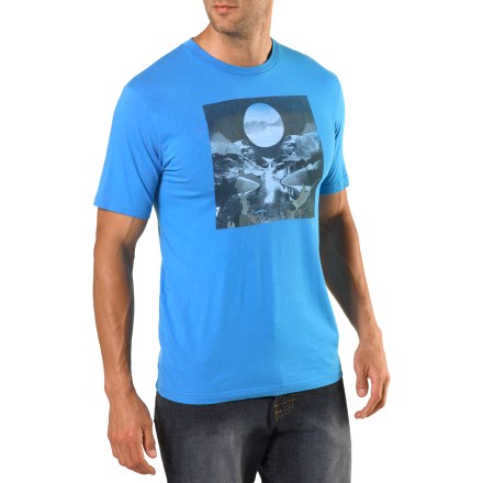 The comfortable Arbor Coda T-shirt has an attractive front graphic created by artist James Dawe. - $7.83