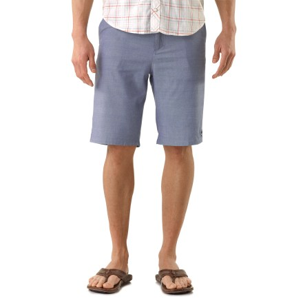 Skateboard Roll through town on your skateboard looking good with the stylish Arbor Southside shorts. Lightweight cotton/viscose from bamboo chambray fabric is comfortable in warm weather. 2 hand pockets and 2 button-close rear pockets store your essentials. Southside shorts include an embroidered Arbor logo at the lower left. - $16.83