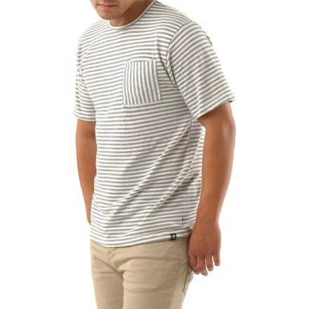 Sport the comfortable Arbor Topsail Crew shirt on your casual adventures. Organic cotton and polyester create the perfect balance of natural comfort, easy care and style. Arbor Topsail Crew shirt has a single chest pocket. - $8.83