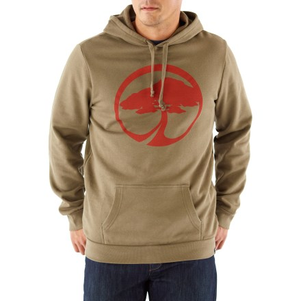 Ski There's nothing quite like the comfort of this Arbor hoodie after a long, cold day on the ski slopes. Organic cotton is blended with regular cotton and has a soft hand. Water-resistant finish causes moisture to bead up and roll right off; finish is effective through 50 washes. Flip the hood up and put your hands in the kangaroo pocket to stay warm. - $49.93