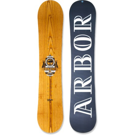 Snowboard The Arbor Element RX Mini snowboard lets kids ride the same board their snowboard hero rides, but sized for them. It's a great choice for kids learning to shred. - $127.83