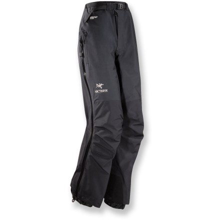 The streamlined Arc'teryx Beta AR women's pants are lightweight, 4-season pants for the mountain purist. They're a reliable, durable and packable choice. - $86.83