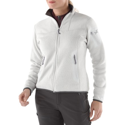 Camp and Hike The women's Covert Cardigan from Arc'teryx provides cozy warmth and outstanding style. A relaxed fit ensures this classic jacket will be one of your all-time favorites. - $88.83
