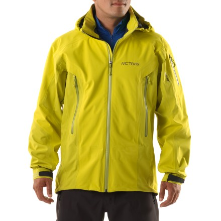 Ski The stormproof Arc'teryx Stingray jacket, designed for in-area ski laps, features supple Gore-Tex(R) Soft Shell fabric to keep you dry in all conditions. - $248.83