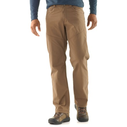Climbing The jean-inspired Arc'teryx Bastion pants have lots of style yet are capable of taking on short hikes and trips to the climbing crag. - $99.00