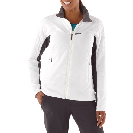 The Arc'teryx Ceva jacket is a versatile, lightweight insulated jacket designed to be worn as either a cold weather mid layer or as a stand-alone piece in cold, dry conditions. - $56.83