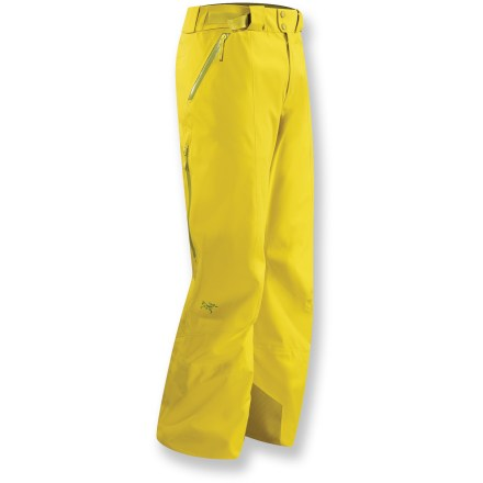 Ski Steadfast in all winter adventures, the Arc'teryx Stingray snow pants feature Gore-Tex(R) soft-shell fabric that provide a supple, warm solution to snow and moisture. - $475.00