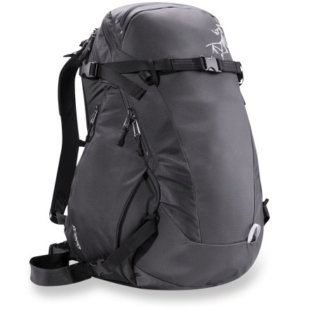 Ski The Arc'teryx Quintic 38 snow pack is an efficient load carrier for the backcountry. It's designed for snow, yet underscores the idea that a backpack is an everyday tool, not a specialized accessory. - $174.83
