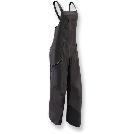 Ski For the stop-and-go rhythm of skiing and riding, the women's Arc'teryx Sentinel Full-Bib pants are built with downhill-specific shaping and features that riders and skiers appreciate. - $261.83