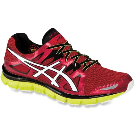 Fitness The ASICS GEL-Blur33(TM) 2.0 road-running shoes offer comfort and flexibility through the miles. - $49.83