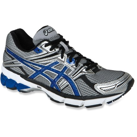 Fitness The men's ASICS GT-1000 PR road-running shoes deliver a great fit and light stability for day-to-day running performance. - $49.83