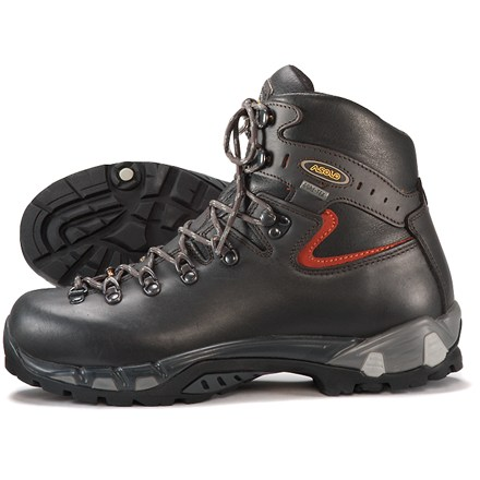 Camp and Hike Multi-density Power Matic midsole technology delivers superb stability, cushioning and comfort in these waterproof Asolo(R) backpacking boots. - $315.00