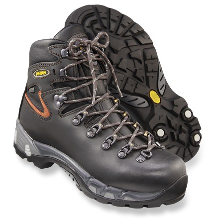 Camp and Hike Multi-density Power Matic midsoles deliver superb stability, cushioning and comfort in these waterproof Asolo(R) backpacking boots. - $315.00