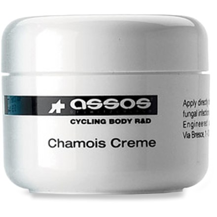 Fitness For prolonged comfort in the saddle, Assos chamois cream increases the life of your chamois and your ride time! - $23.00