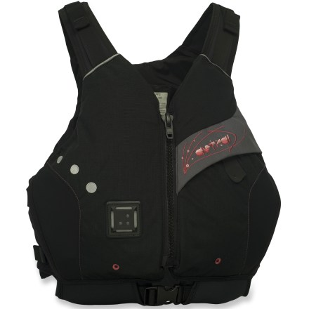 Kayak and Canoe The Astral Designs Abba PFD is made with partially organic materials and tailored for women paddlers looking for comfort and style. - $96.93