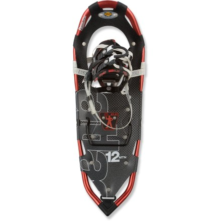 Camp and Hike Seeking elevation? The Atlas 1235 snowshoes provide traction, flotation and ease-of-use for wandering off the beaten paths and adventuring about in mountain terrain. - $111.83