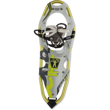 Fitness Light and agile, the Atlas Race snowshoes make it easy to keep running through the snowy months, offering a full-stride-friendly design and aggressive traction so you can push the pace through winter. - $271.93