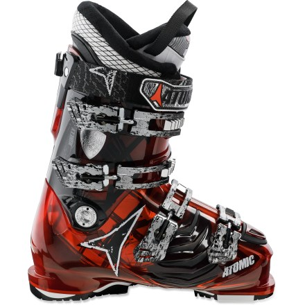 Ski Focused on fun, the Atomic Hawx 90 ski boots carve fast turns and leave your feet with enough comfort at the end of the day to truly enjoy the apres-ski festivities. - $158.83