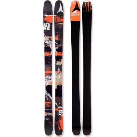 Ski Featuring rockered tips and tails, the Atomic Alibi skis boost comfort and control as you explore the entire mountain. - $259.83