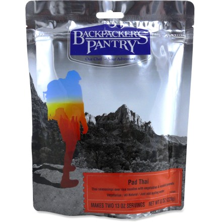 Camp and Hike This Backpacker's Pantry Pad Thai veggie meal adds variety to any trail menu you have planned. - $7.50