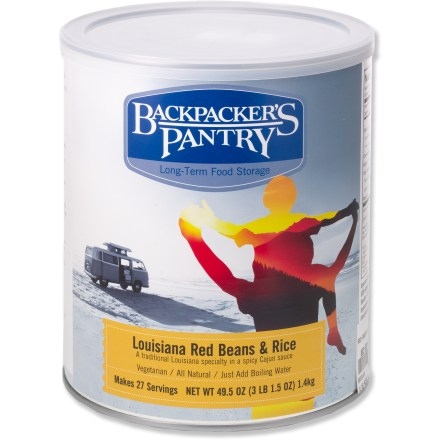 Camp and Hike Enjoy a Cajun feast on your next outing with the Backpacker's Pantry Red Beans and Rice meal. - $21.93