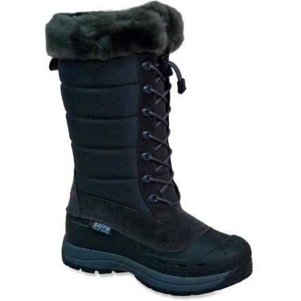 Hunting The Baffin Iceland boots promise a way for women to look stylish in the elements, while reaping the cold-weather performance and protective benefits of a winter boot rated down to -40degF. - $74.83