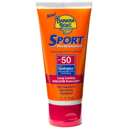 Camp and Hike Have fun in the sun without getting fried! This Banana Boat Sport SPF 50 lotion provides exposed skin protection from the sun. - $9.00
